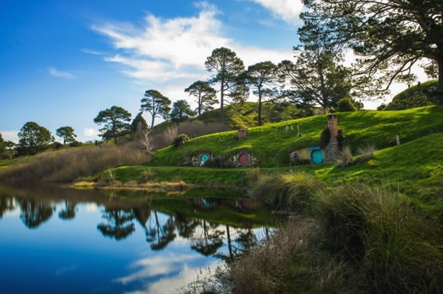 """Hobbiton from """"Lord of the Rings"""""""