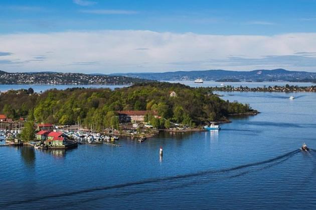 Islands near Oslo, Norway.