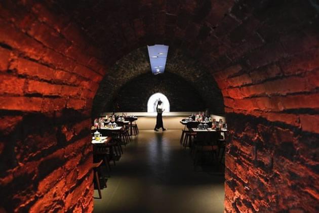 A restaurant near the Forbidden City in Beijing.