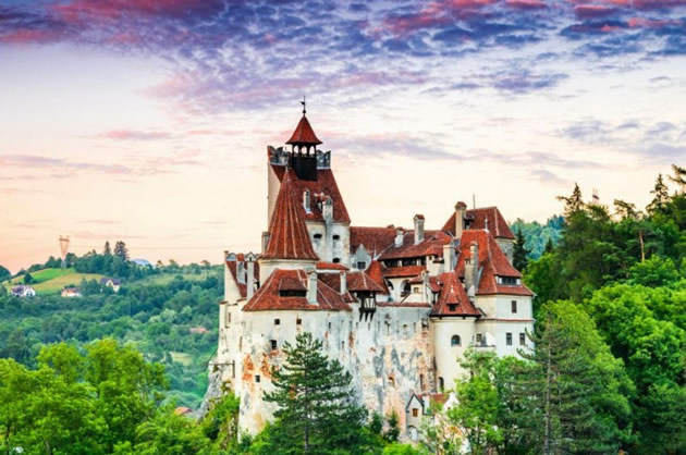 A castle in Transylvania.