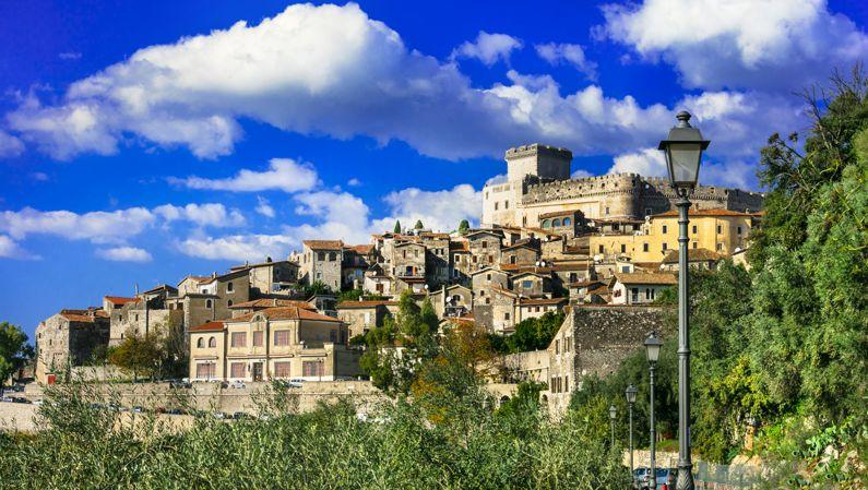 Hilltop village outside Rome.